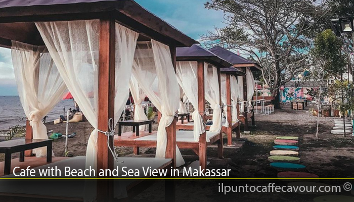 Cafe with Beach and Sea View in Makassar