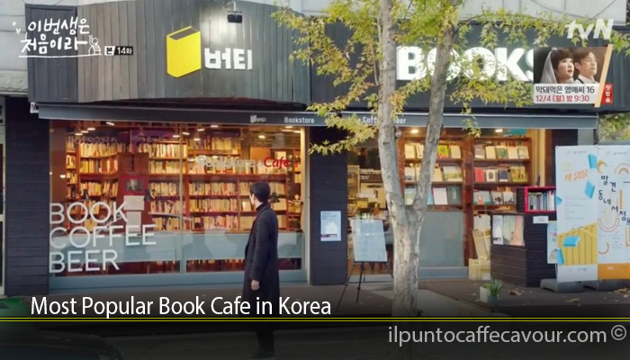 Most Popular Book Cafe in Korea